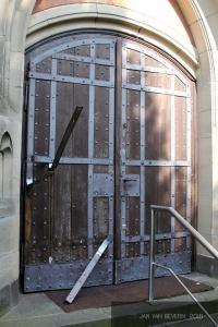 Kirche St. Martinus - Vandalismus
