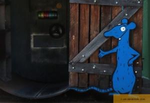 die blaue Ratte